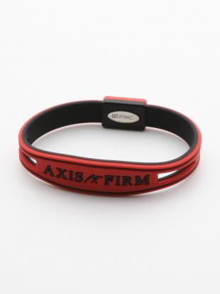 RED シリコンブレスレット「AXF AXISFIRM」を見る