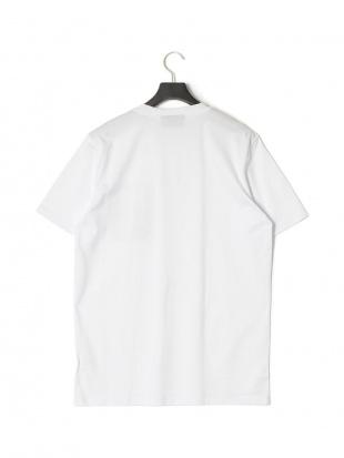 ホワイト ジップ×ロゴ 半袖 Tシャツ CARGO T-SHIRTを見る