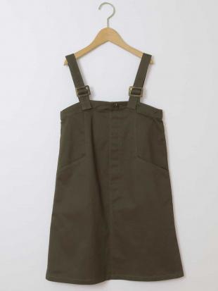 カーキ [110-130]ジャンパースカート[WEB限定サイズ] a.v.v bout de chouを見る