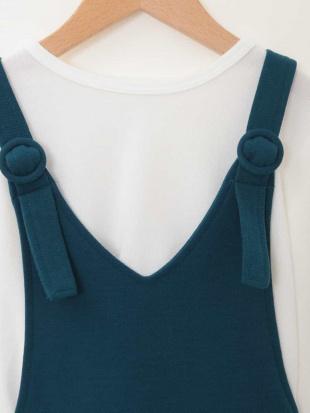 グリーン [100-130]リブトップスジャンパースカートセット[WEB限定サイズ] a.v.v bout de chouを見る