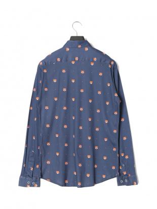 ネイビー タイガー 長袖シャツを見る