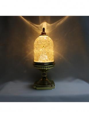バブル台付LEDライト ドームツリー(ゴールド)を見る