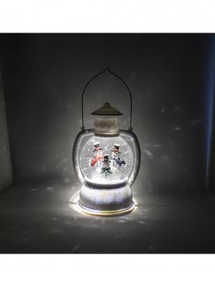 バブルランタン型LEDライト スノーマンを見る