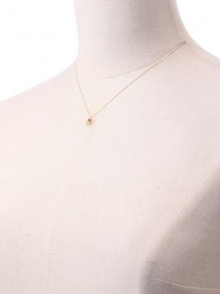 イエローゴールド K18 半貴 マルチ ネックレスを見る