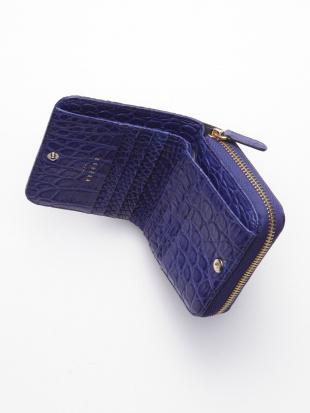 ピンク KUBERA  MATT CROCODILE Bi-fold Walletを見る