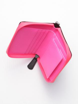 ピンク KUBERA bi-fold wallet[scotchgard]を見る