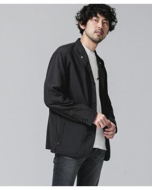 ブラック ファンクショナルライトウェイトジャケット ナノ・ユニバースメンズ(オリジナル)を見る