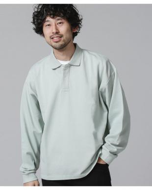 ミント2 ビッグシルエットポロシャツ ナノ・ユニバースメンズ(オリジナル)を見る