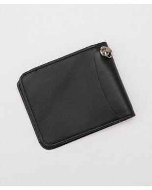 ブラック amp japan/Bi-Fold Wallet ナノ・ユニバースメンズ(バイイング)を見る