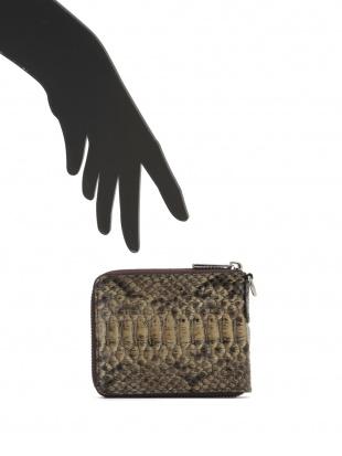 ドライド パイソンレザー ラウンドジップ 財布を見る