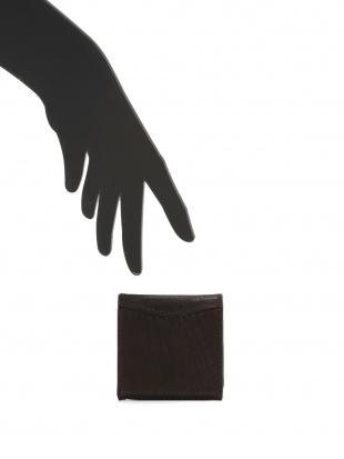 ブラウン シャークレザー 小銭入れを見る