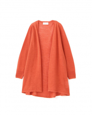 オレンジ ◆ラミーハイゲージロング丈羽織 ヒューマン ウーマンを見る