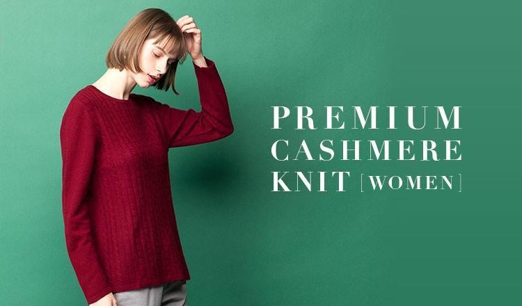 PREMIUM CASHMERE KNIT - WOMEN -