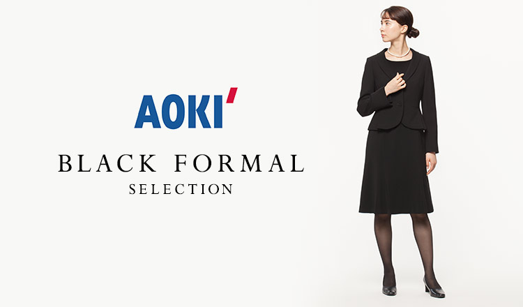 AOKI WOMEN - BLACK FORMAL -
