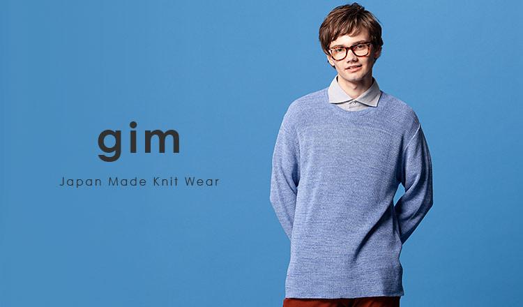gim:Japan Made Knit Wear