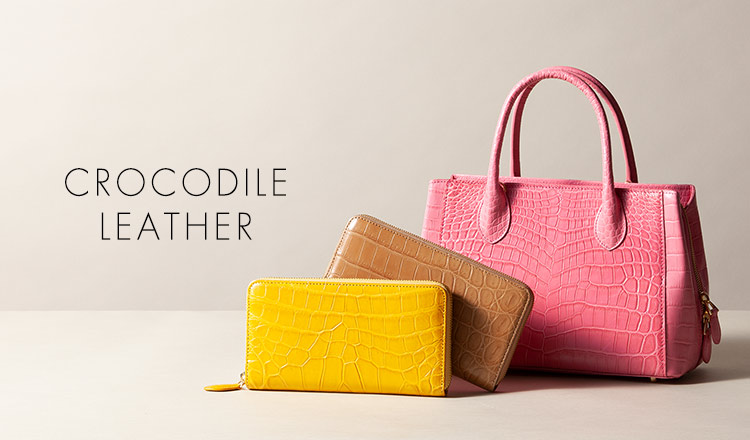CROCODILE  LEATHER SELECTION