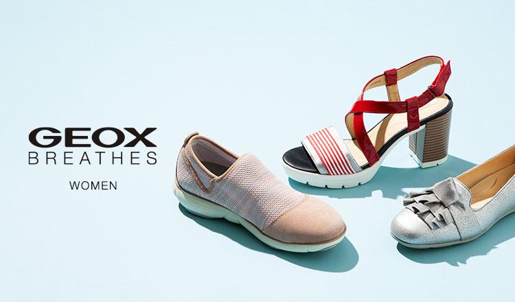 GEOX WOMEN -通気性抜群 究極の呼吸する靴-
