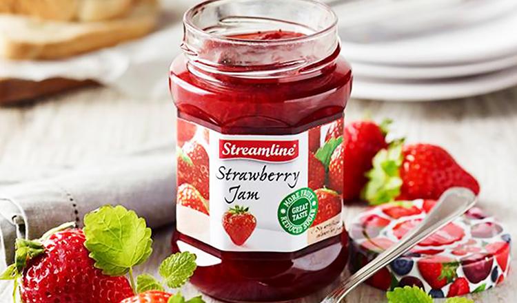 Streamline -着色料・保存料不使用の低糖度ジャム-