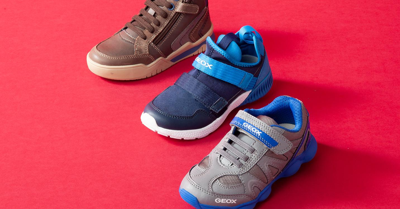 GEOX BOY -呼吸する靴 子供のための理想的で快適なテクノロジー-