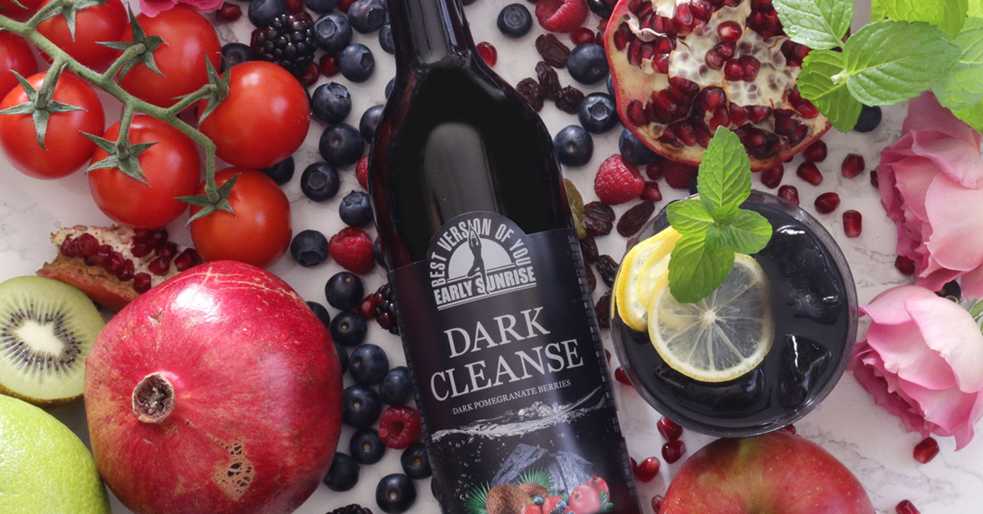 DARK CLEANSE  CHARCOAL DRINK