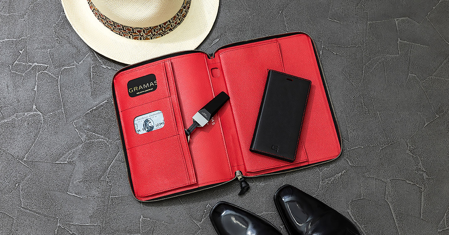 GRAMAS: iPhone Case & Lether goods