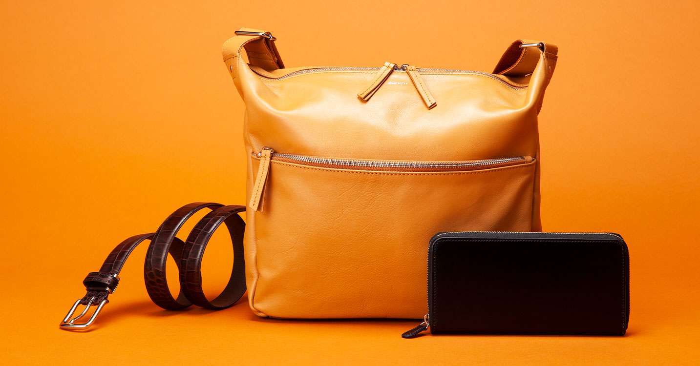 Refresh your leather goods