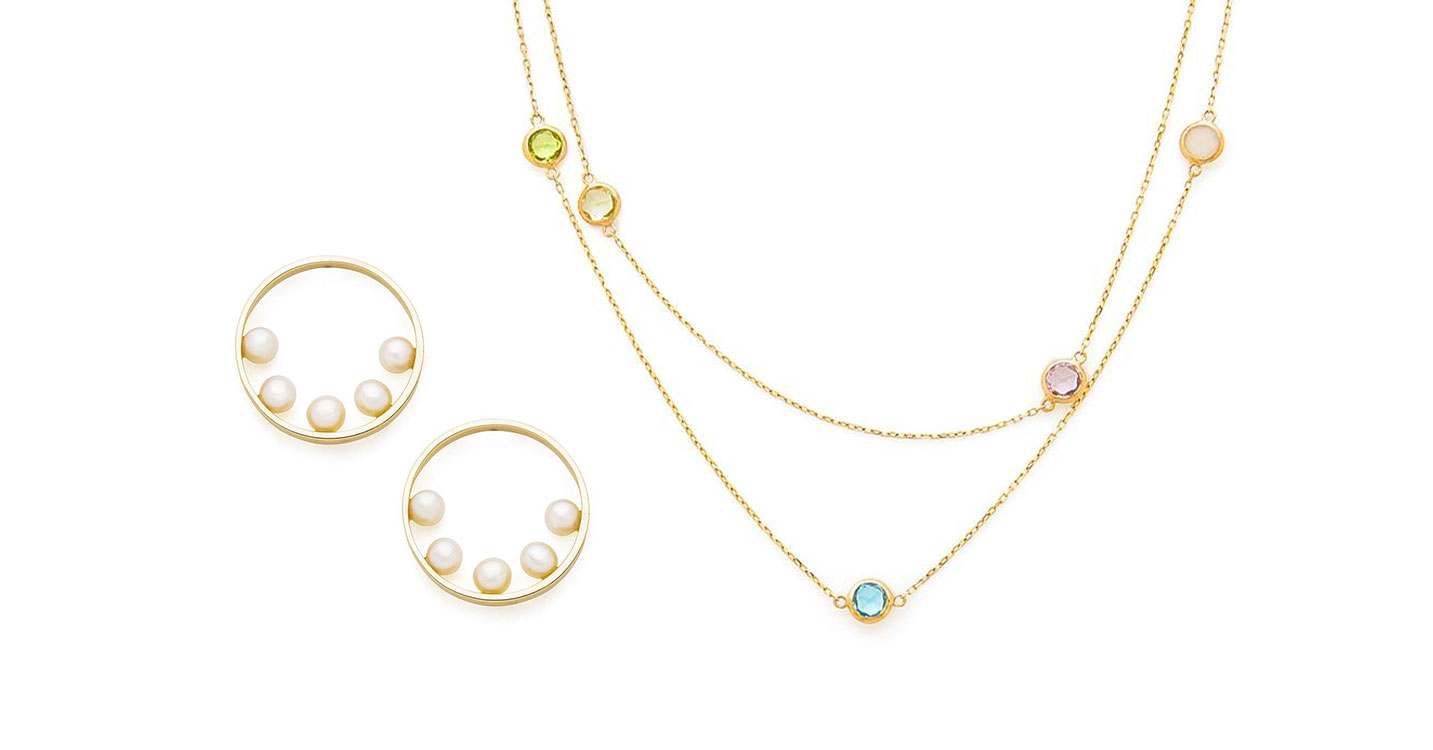 Pearl & Color Jewels