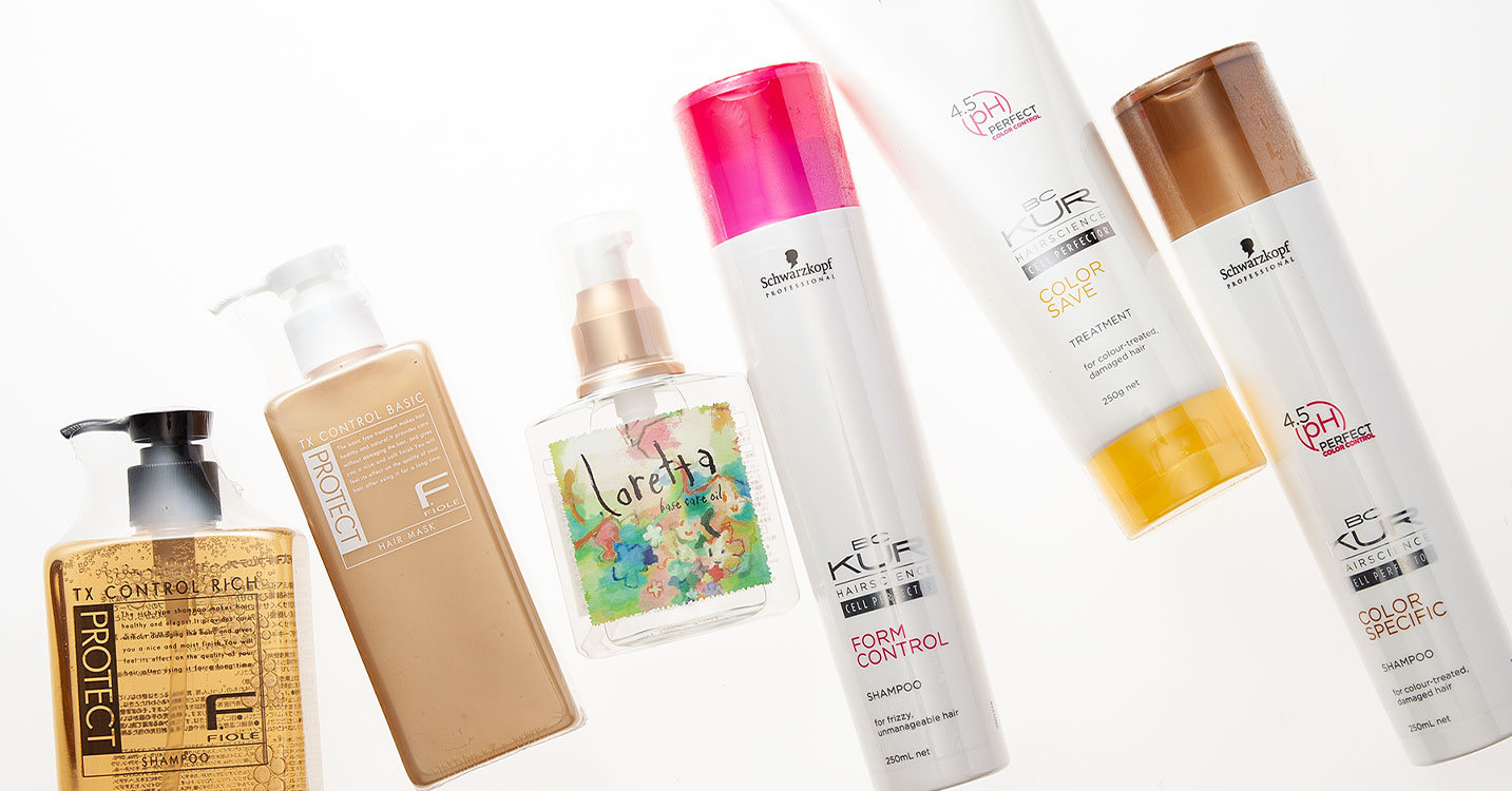 Salon Haircare Selection