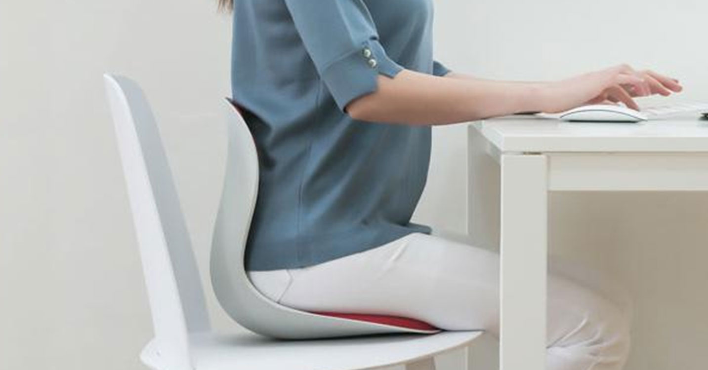Curble Chair Wider 正しい姿勢をサポート by Ablue
