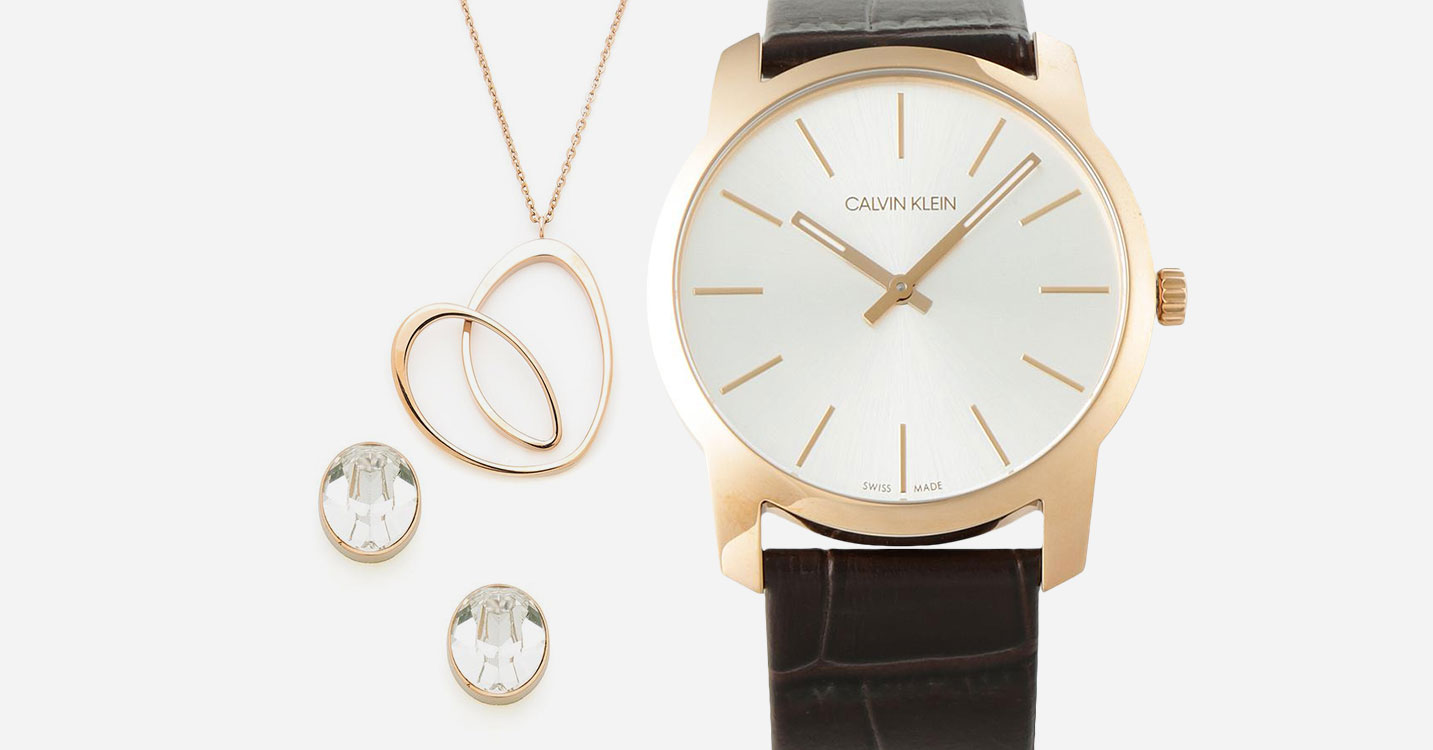 CALVIN KLEIN watch & Jewelry