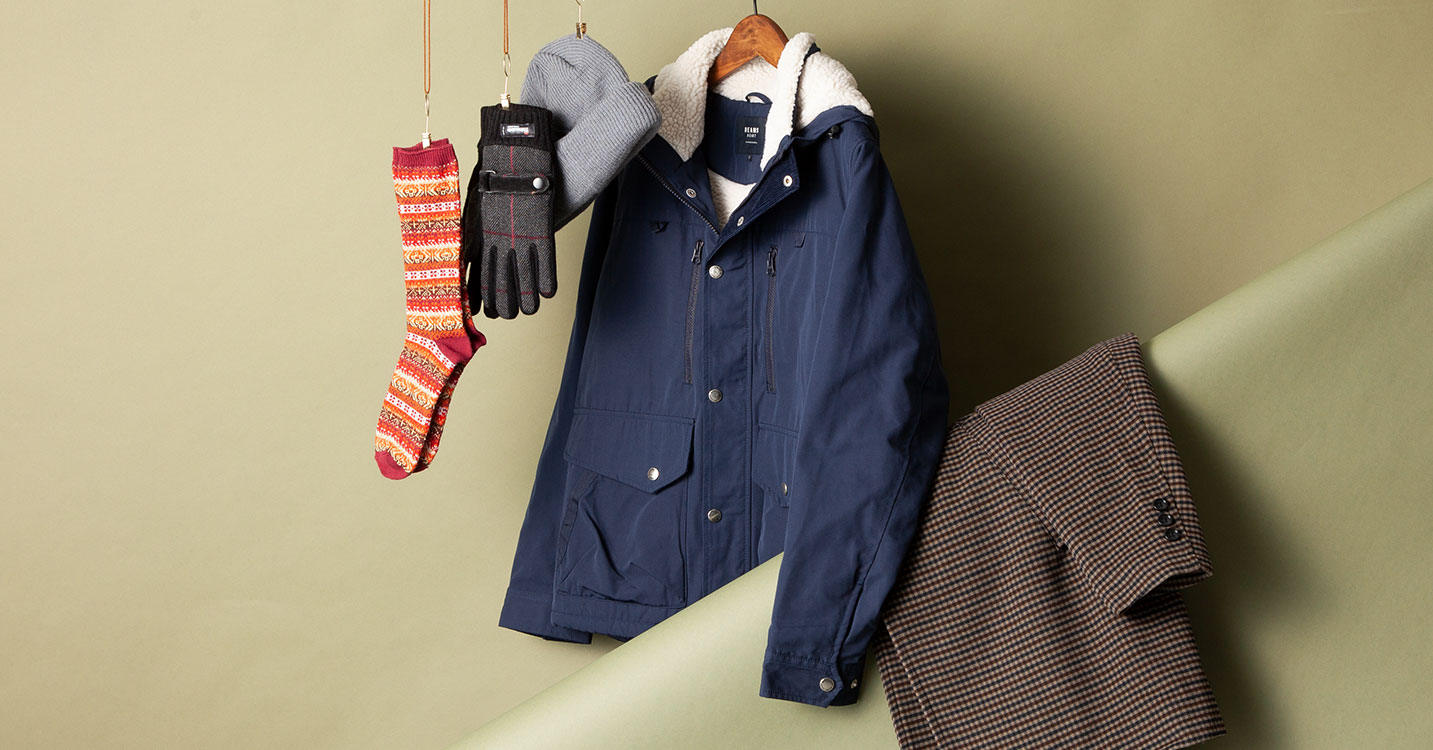 BEAMS MEN : OUTER & ACCESSORY'S