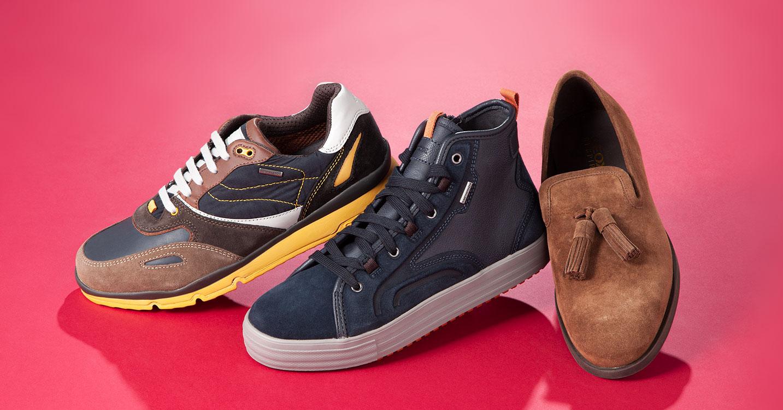 GEOX MEN -イタリア特許取得 究極の呼吸する靴-