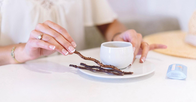 Le chocolat des Francais / Mademoiselle de Margaux