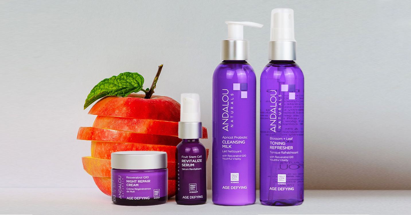 ANDALOU naturals-全米No.1 植物幹細胞でエイジングケア-