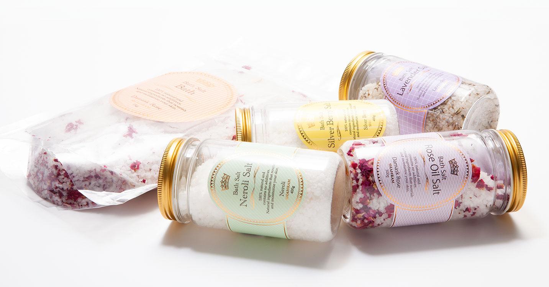 ORGANIC BATHSALT -心地良い香りで至福のバスタイム-