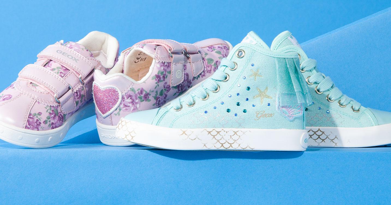GEOX GIRL -呼吸する靴 子供のための理想的で快適なテクノロジー-