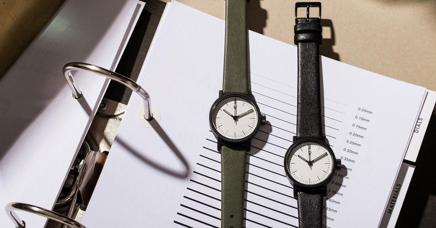 DESIGNERS WATCHES: HYGGE & NOMAD, etc.