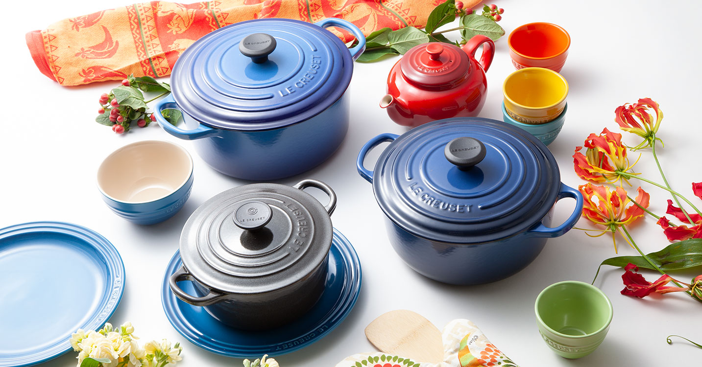 LE CREUSET -VIVID COLOR COLLECTION