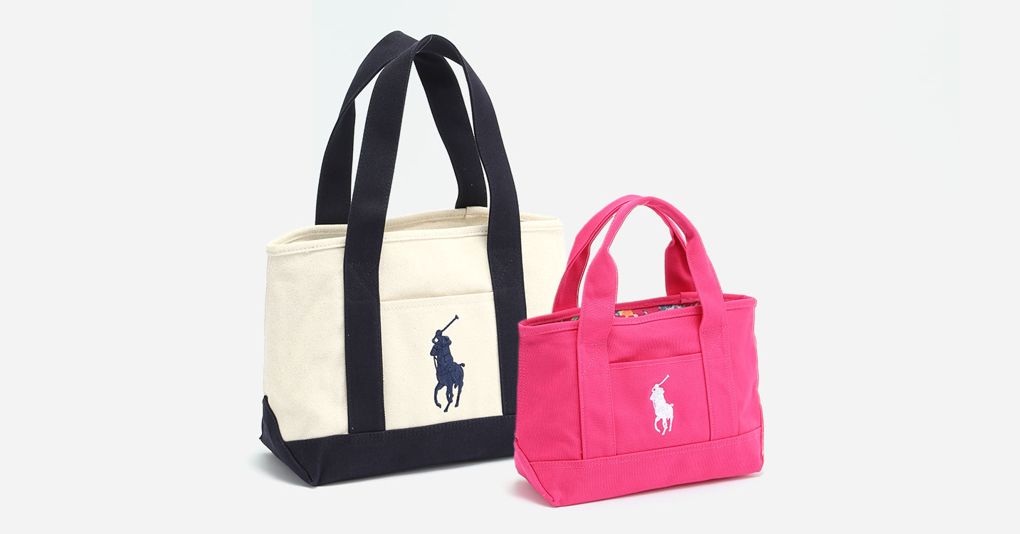 POLO RALPH LAUREN:TOTE BAG