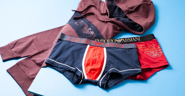 EMPORIO ARMANI: Relaxing & Underwear