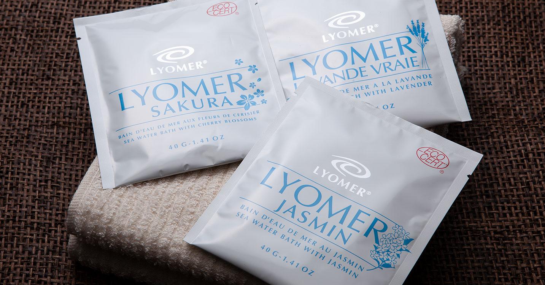 LYOMER-フランス生まれの海水入浴剤-