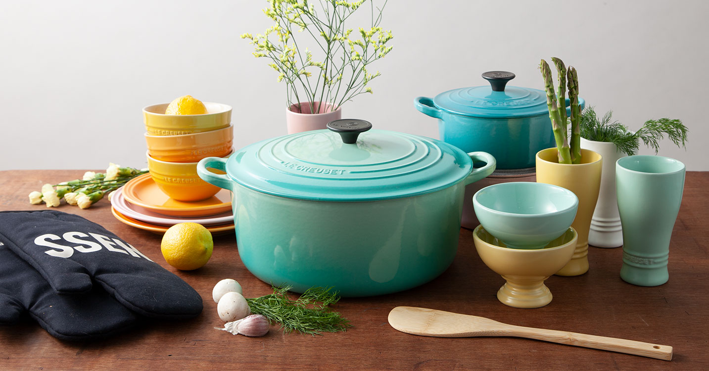 LE CREUSET-Colorful french style-